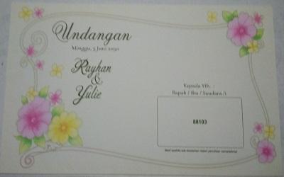 undangan solo murah - kode 88103