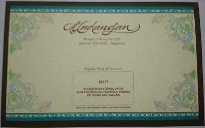 undangan solo murah - kode 88171